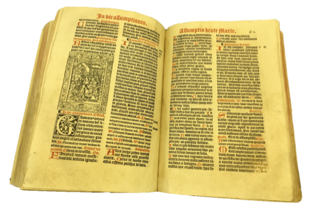 Restauration incunable