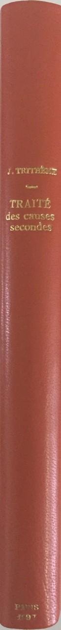 Reliure en plein cuir
