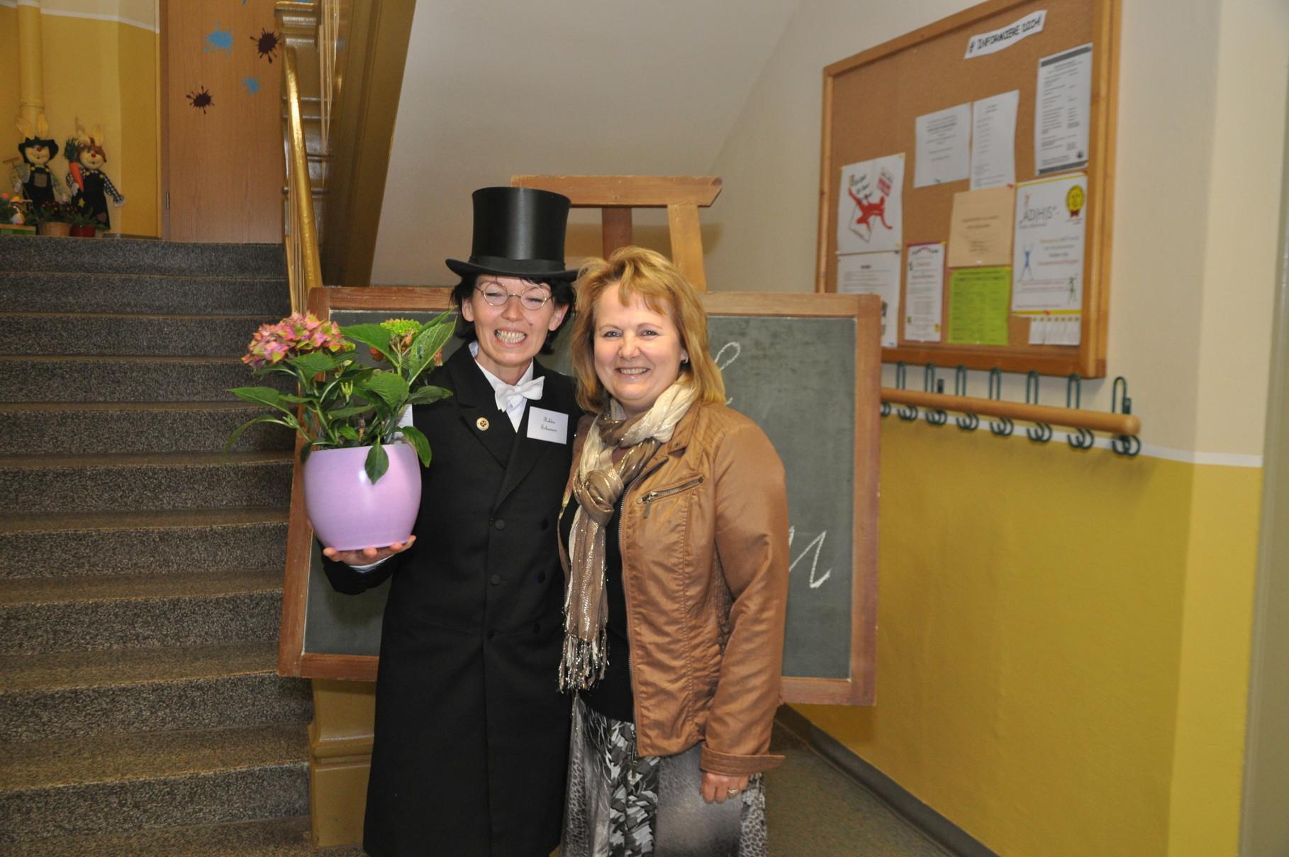 Frau Prinz - ehemalige Schulleiterin GS Remse