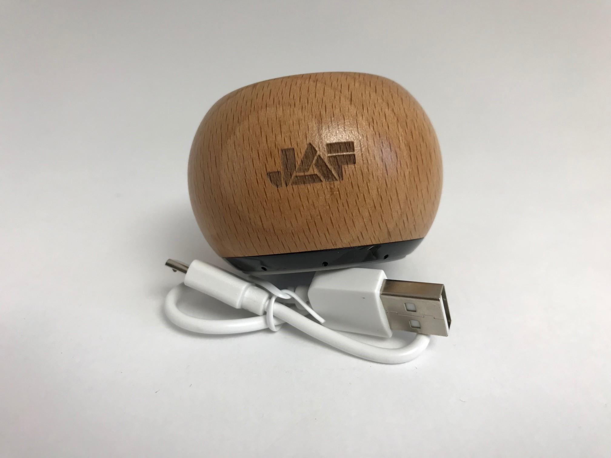 Der Lautsprecher aus Holz - so klein & schon so laut...