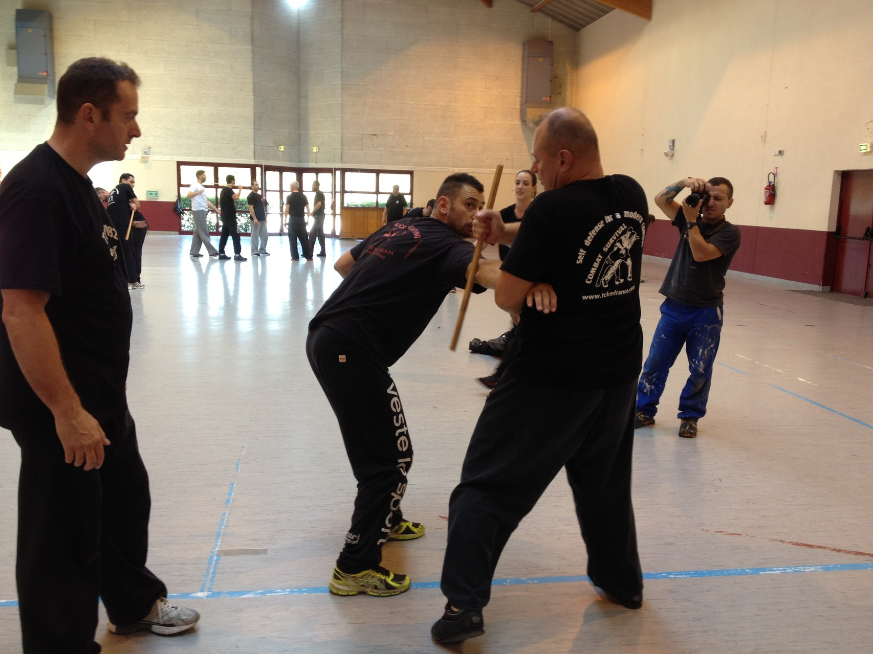 STAGE INSTRUCTEURS TCKM OCTOBRE 2014