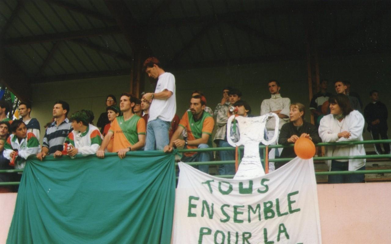 Saison 1996-1997 Montée en 2ème Division (réserve) Deuxième finale perdue à domicile contre Doazit
