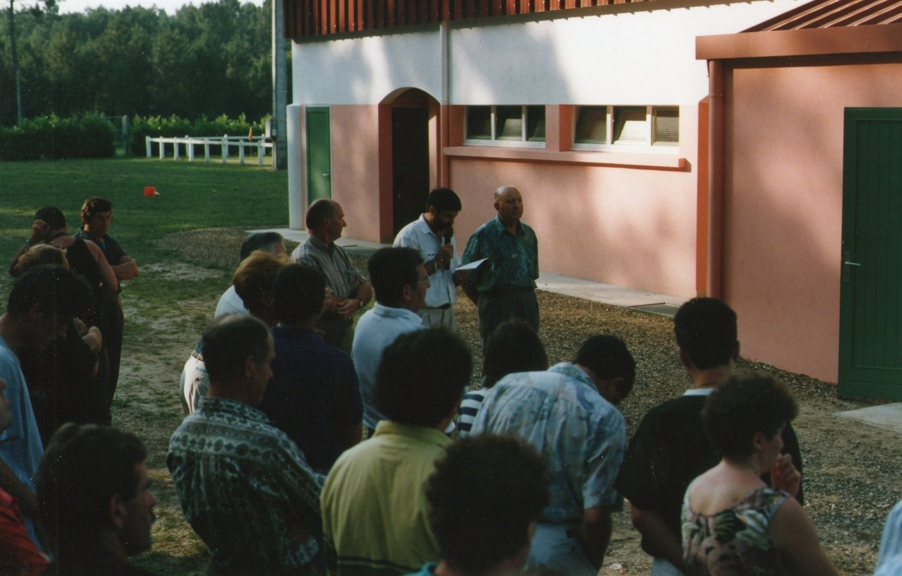 50 ans de L'US Bertheuil / Saint Perdon Sports - Septembre 1993