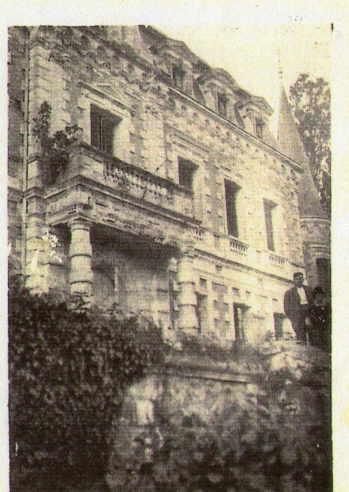 Le Chateau de Bertheuil, années 40.