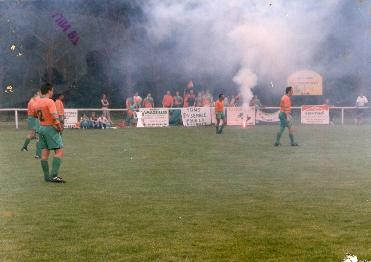 Saison 1996-1997 Montée en 2ème Division (réserve) Première finale gagné à St-Avit