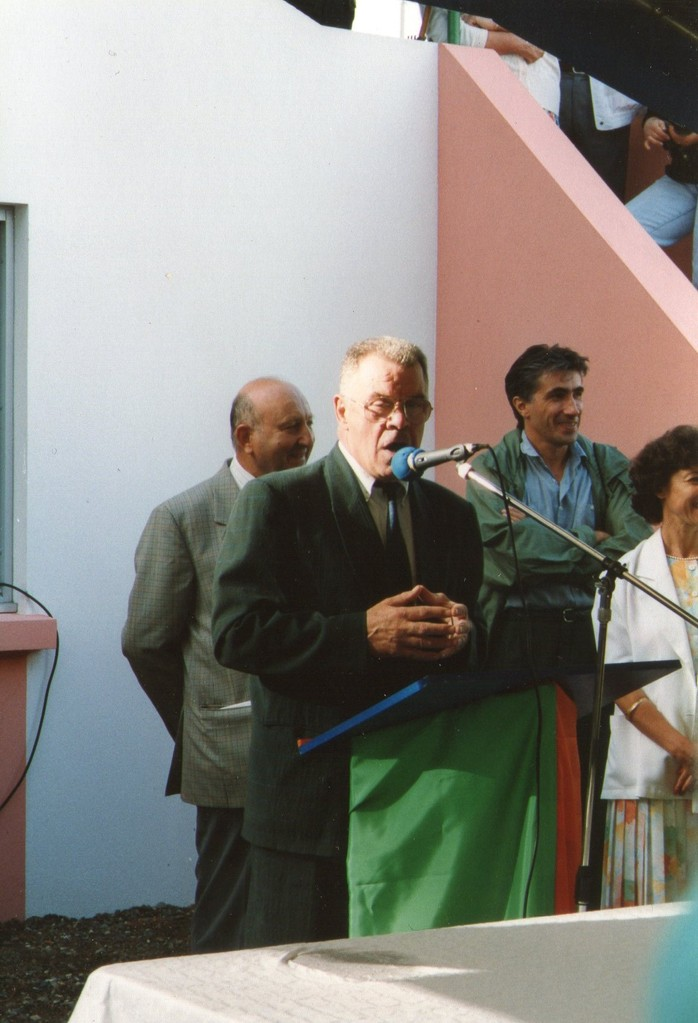 Inauguration de la tribune - Aout 1992