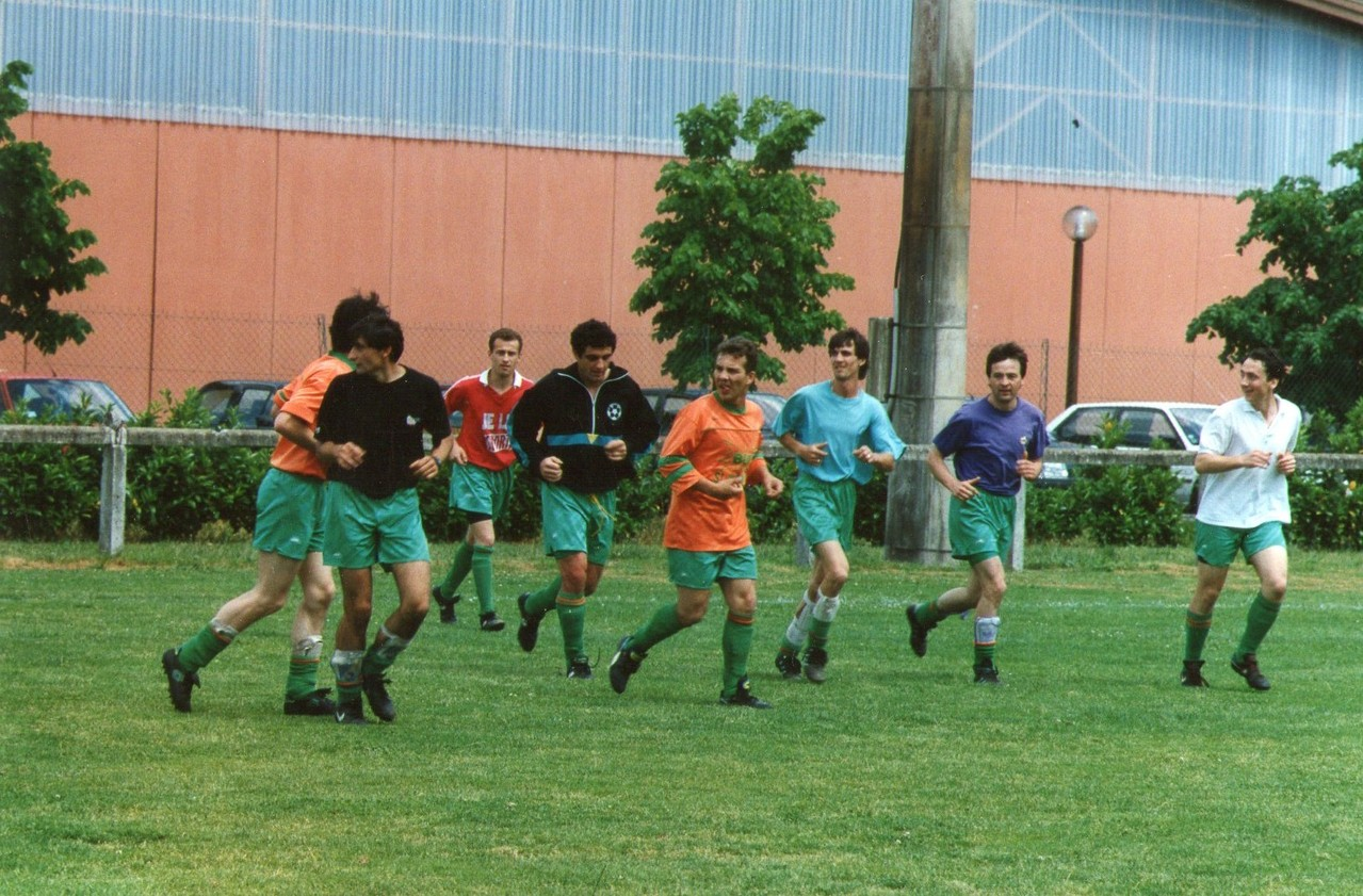 Saison 1991-1992, match de la montée en 1ère Division.