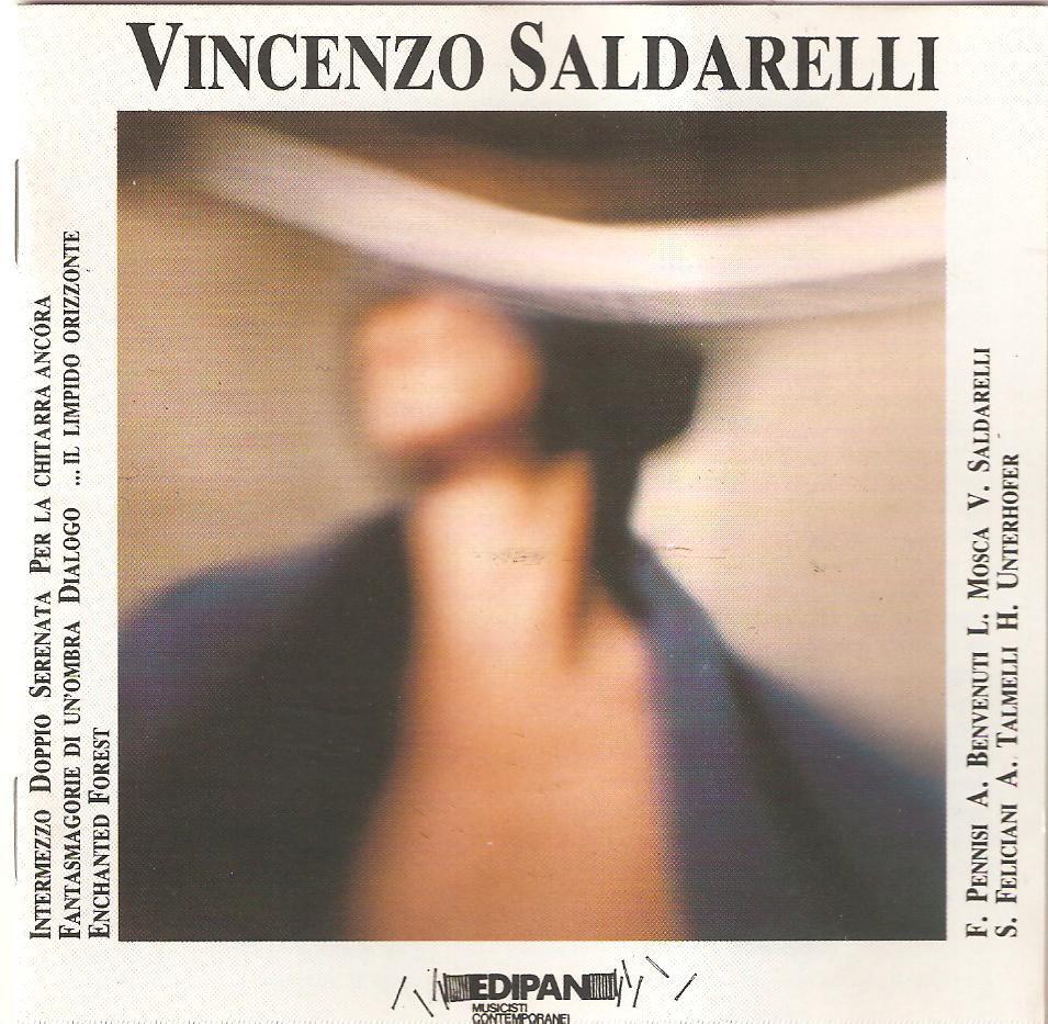 VINCENZO SALDARELLI Edipan PAN 3047 Vincenzo Saldarelli chitarra Dialogo