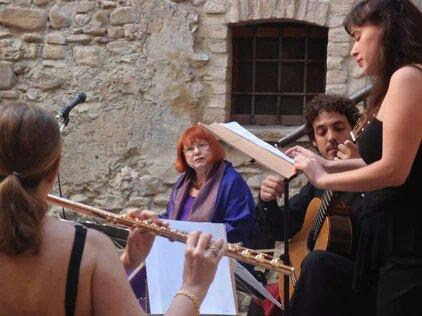 Samarkanda a Montecchio Emilia nel 2015 con Evelina Schatz e il trio Veronesi, Loza e Gatta