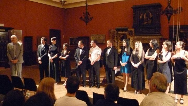 Concerto alla Galleria Parmeggiani