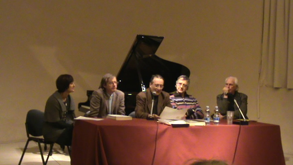 Casa della Musica di Parma Convegno e Concerti dedicati a Franco Margola  nel 2012  dal Conservatorio con miei brani in esecuzione