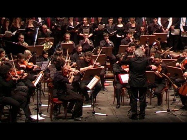 La ripresa nel 2010 della Cantata Sacra per coro e orchestra a Reggio Emilia