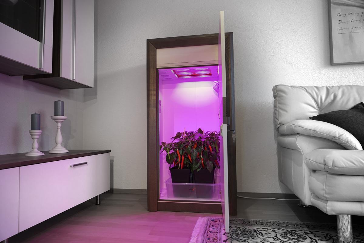 automatic LED Growbox Komplettset
