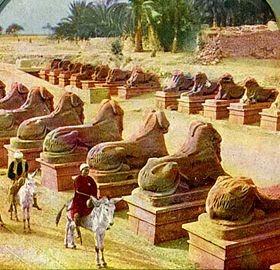 Karnak - Luxor. -