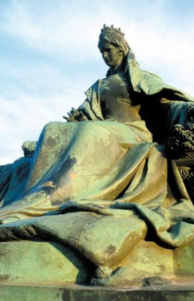 Denkmal in Budapest: