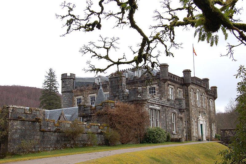 Achnacarry-Castle heute. Damals: Commando-Depot und Ausbildungszentrum