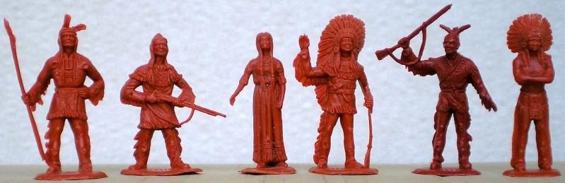Indianerfiguren aus den Heinerle-Tüten