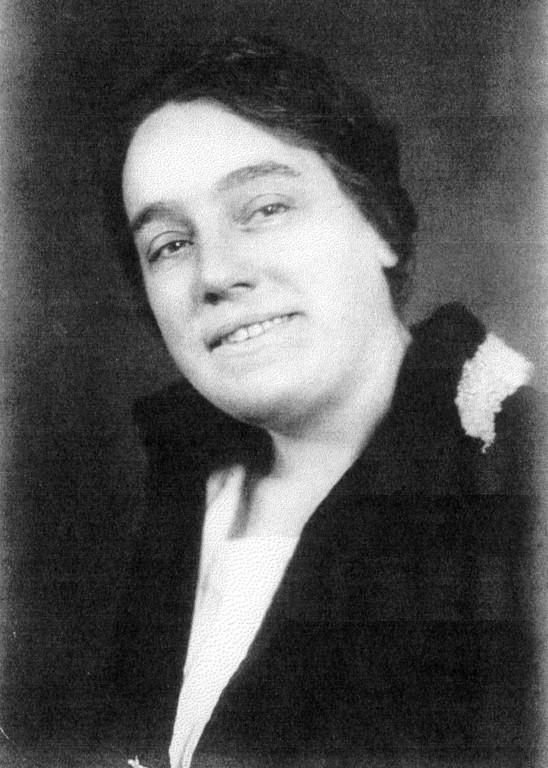 Marie Hess, geborene Hahn