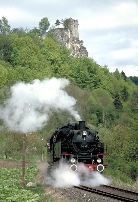 Dampf-Betriebsfahrt der Museumsbahn
