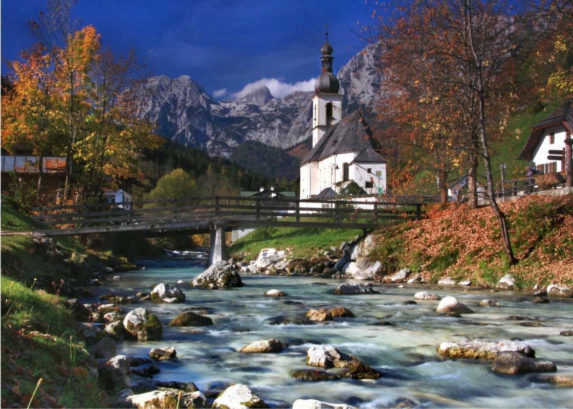 """""""Der Malerwinkel"""" in Ramsau bei Berchtesgaden: Hier machten meine Eltern mal ohne mich Urlaub:"""