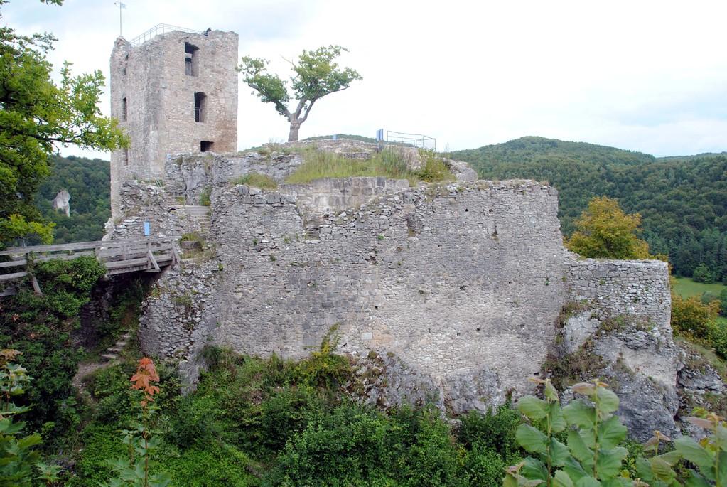 Reste der Hauptburg