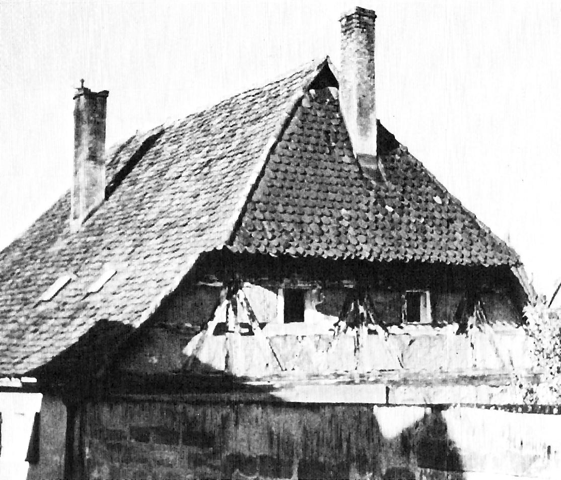 Das Brucker Hirtenhaus. Das älteste erhaltene Profangebäude.