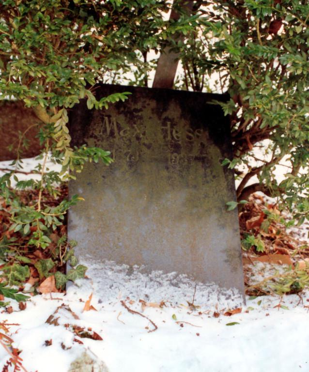 Grabstätte von Leopolds Bruder Max (gestorben 1937)