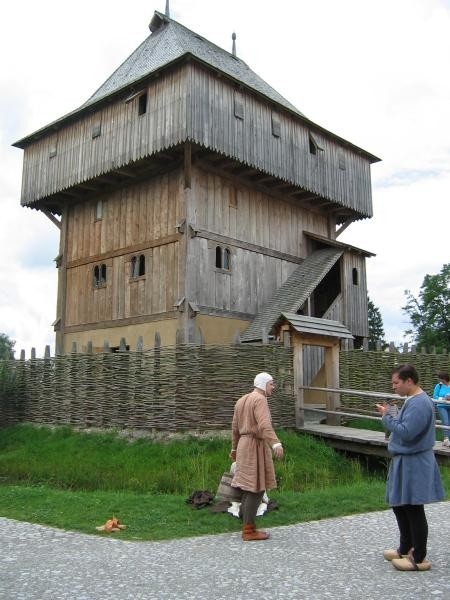 Kanzach: Mittelalter-Darsteller