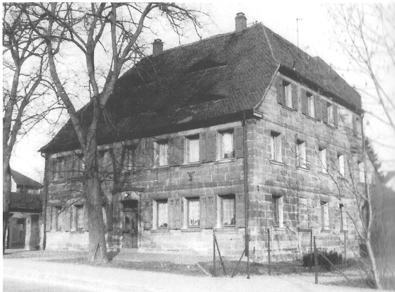 Das Haus, etwa 1965.