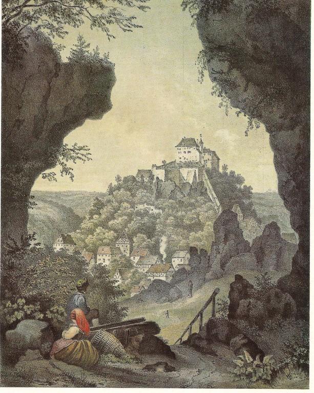 Burg Gößweinstein 1830