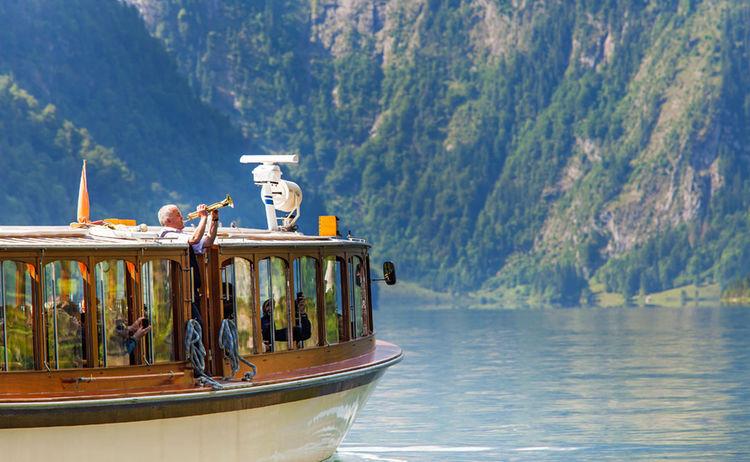Stopp auf dem See: das Trompetenecho wird geblasen (Wikipedia Commons)
