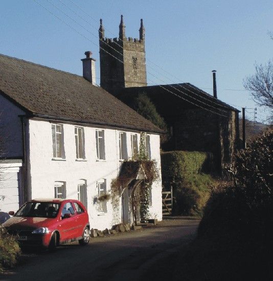 Mary Tavy Old Village