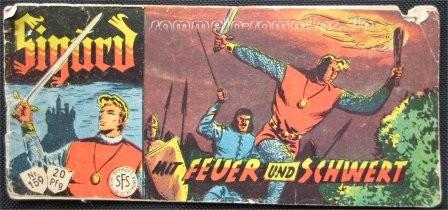 Einer meiner Heftchen-Helden: Sigurd, der edle Ritter