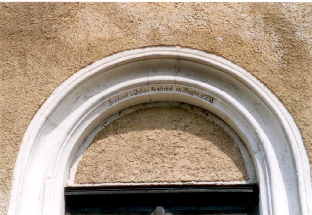 Schenkungs-Inschrift (Foto: A. Schirnjack)