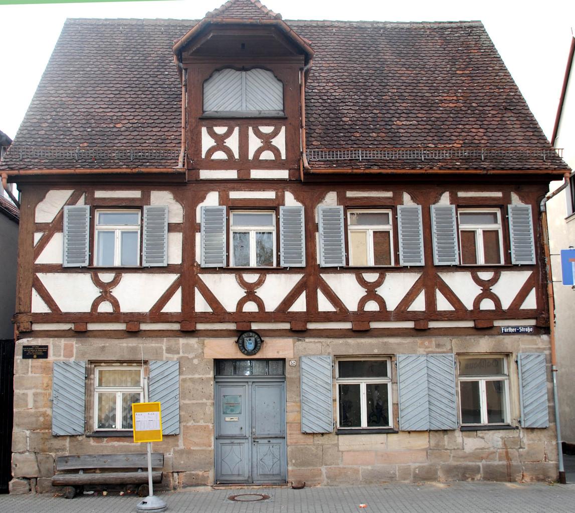 Das ehemalige Rathaus. In meiner Kindheit Polizeistation.
