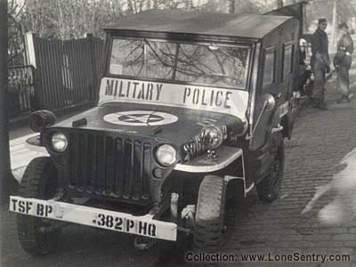 Einer der für mich sehr eindrucksvollen MP-Jeeps