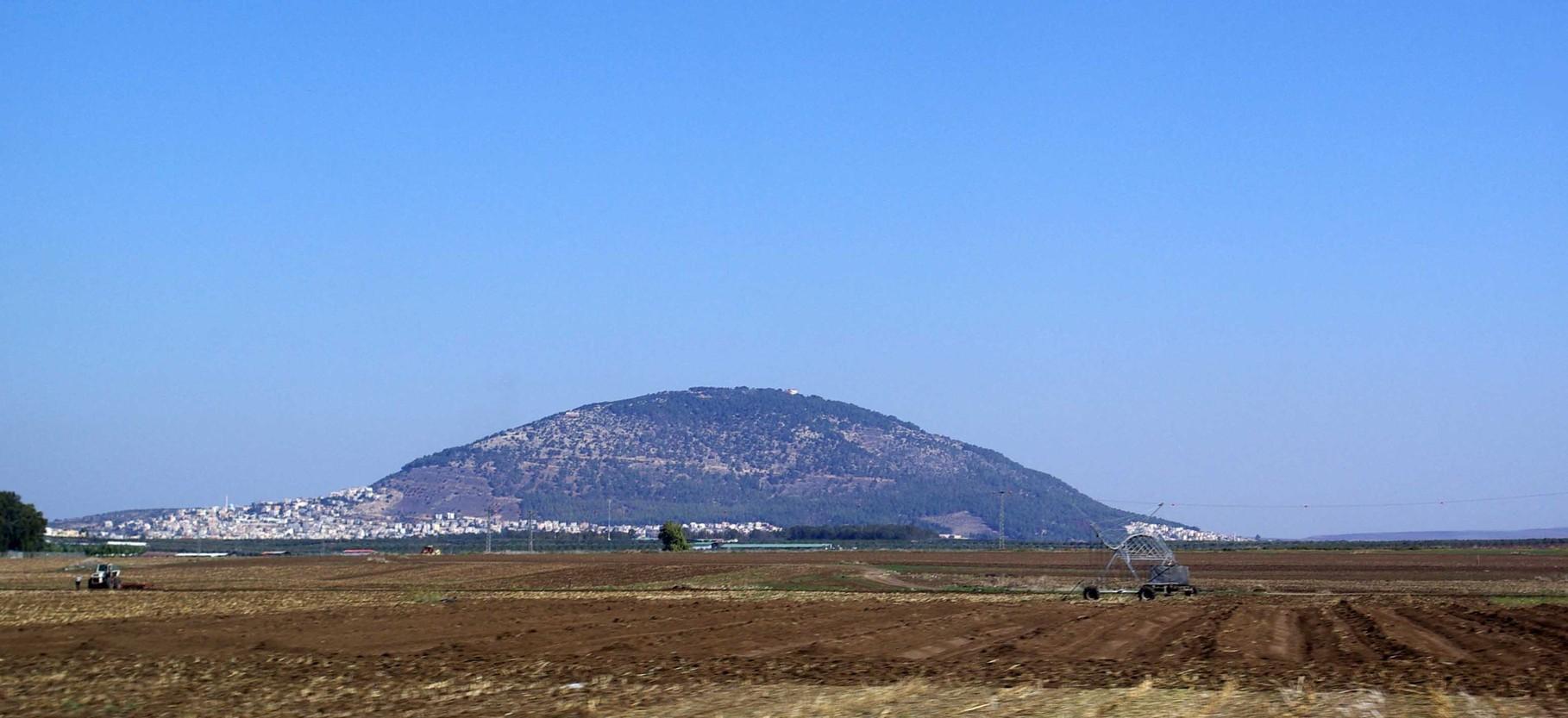 Der Berg Tabor - so wie ich ihn gesehen habe... (Wikipedia Commons)