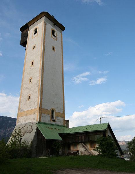 Turm zur Herstellung von Blei-Schroten