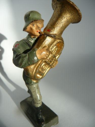 Ein Leolin-Musikcorps-Soldat..