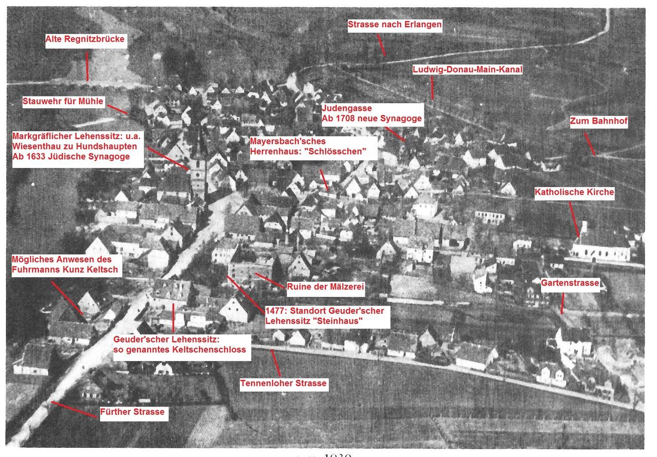 Luftaufnahme ca. 1920-1930.