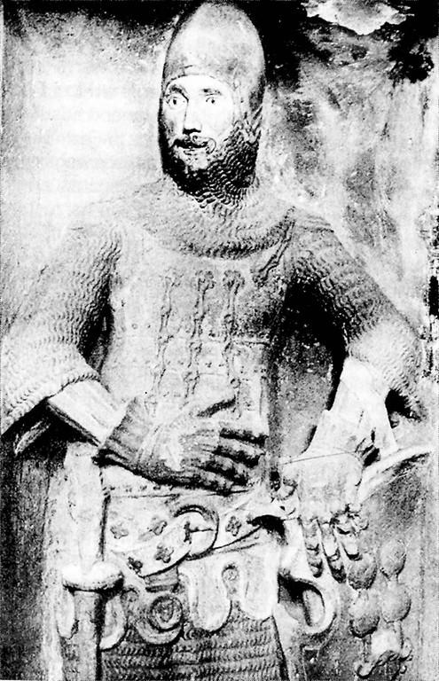 Typischer gerüsteter Ritter (Otto von Orlamünde, 1340)