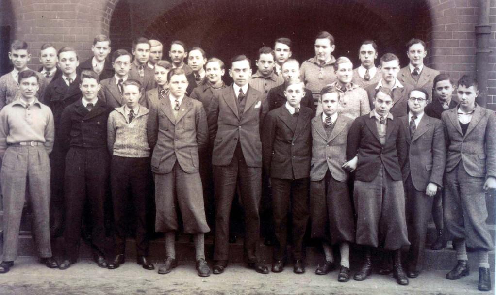 Ottos Klasse, Oberrealschule am Zietenring, Otto ganz rechts