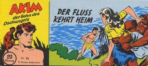 Akim, der Tarzan-Verschnitt aus dem Dschungel