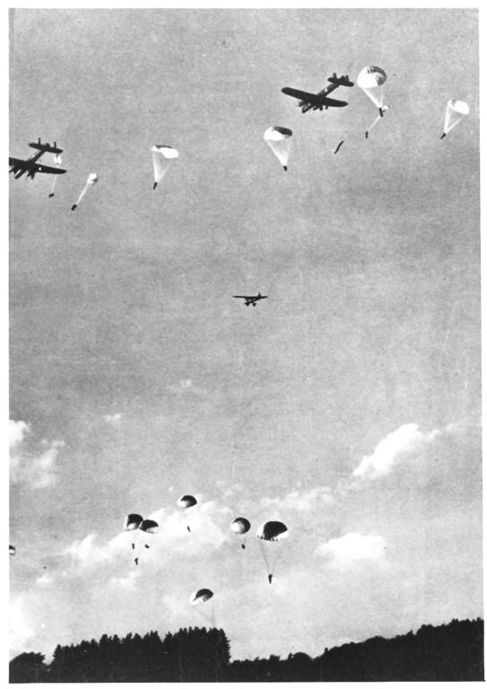Fallschirm-Springerausbildung