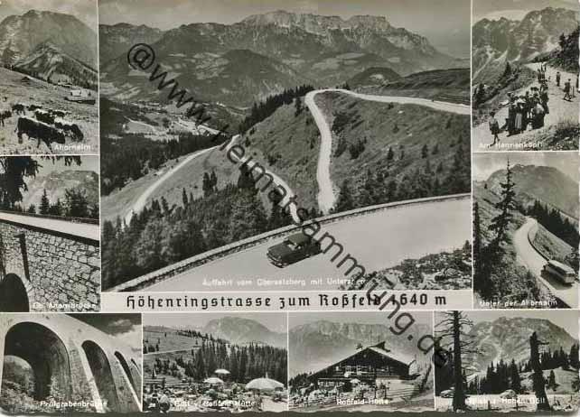 Ansichtskarte aus der Zeit unseres Aufenthalts