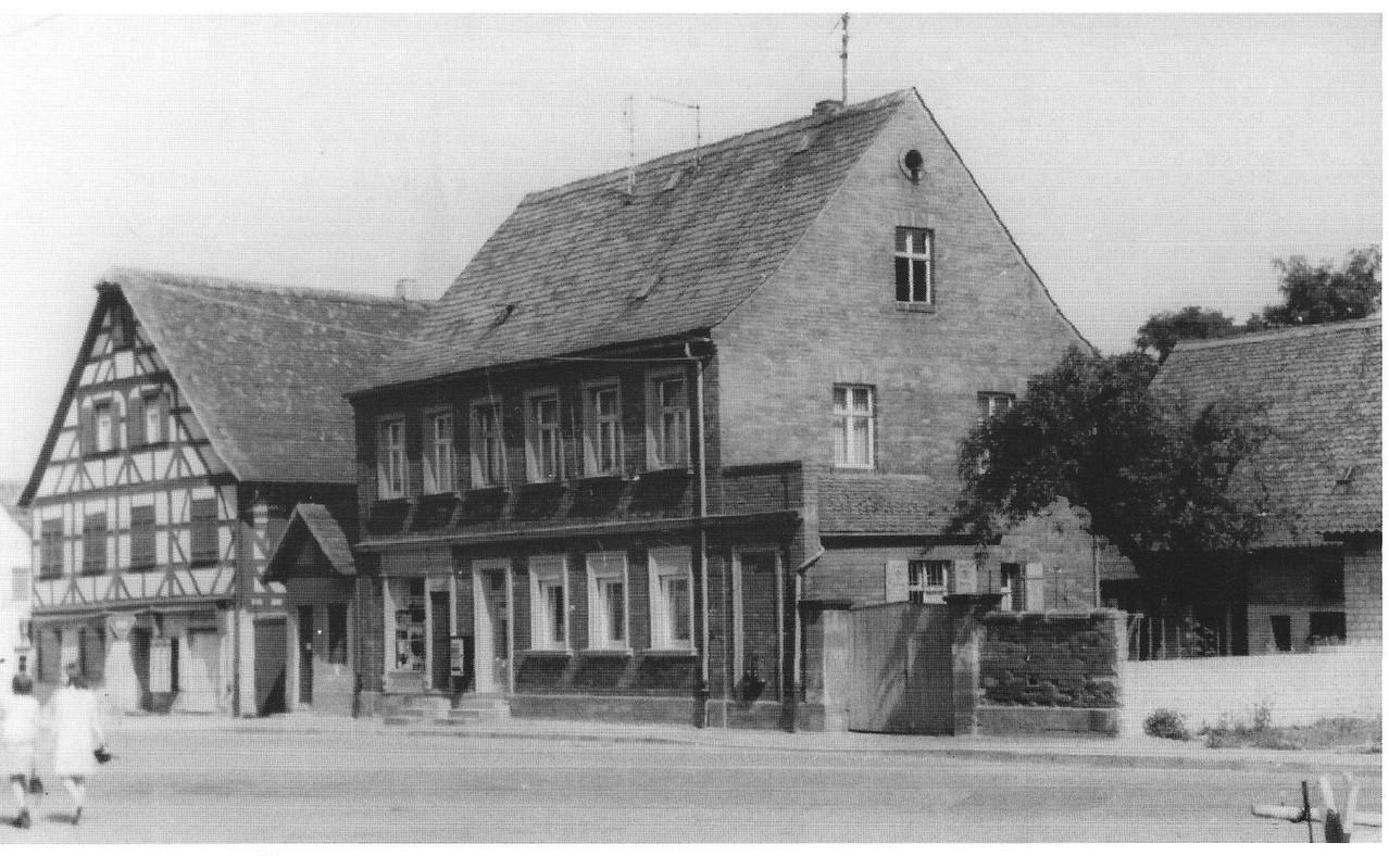 Anwesen Geißer, etwa 1960.