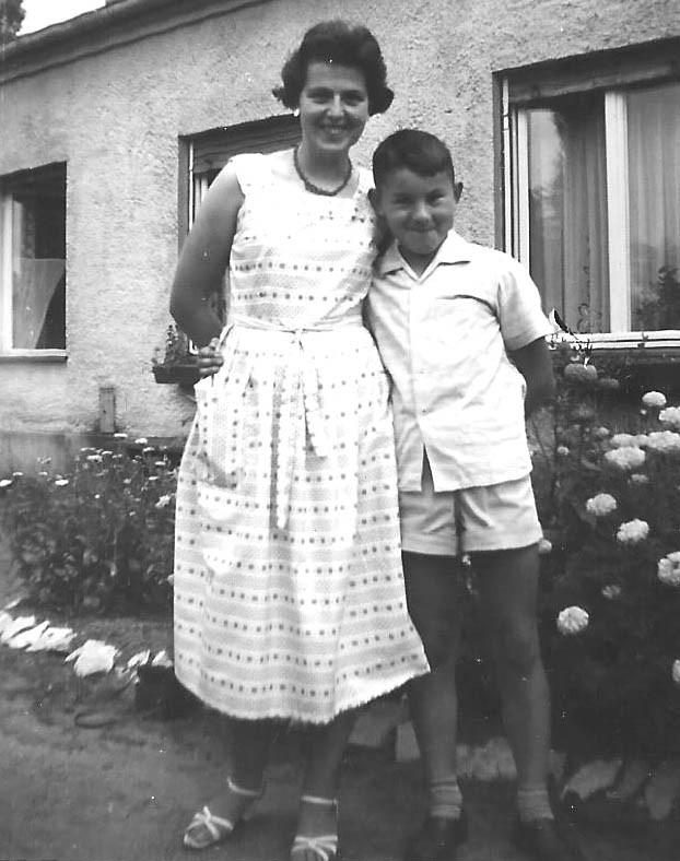 ... und mit meiner Mutter...