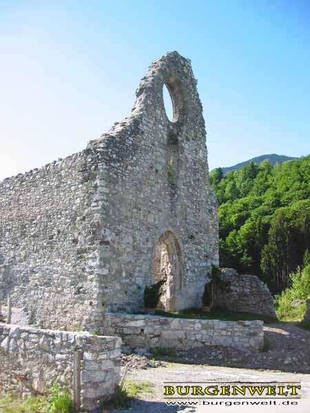 Reste der Klosterkirche heute