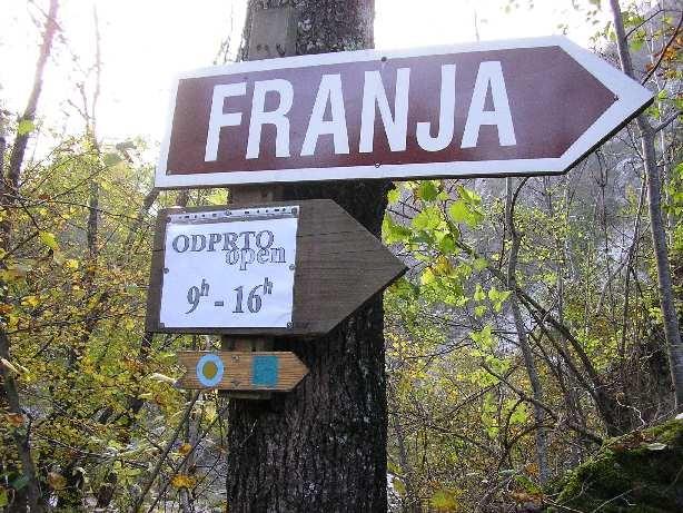 """Hier geht's """"zur Franja"""": ein Codename des Partisanenlazarett war der Vornamen der ärztlichen Leiterin"""