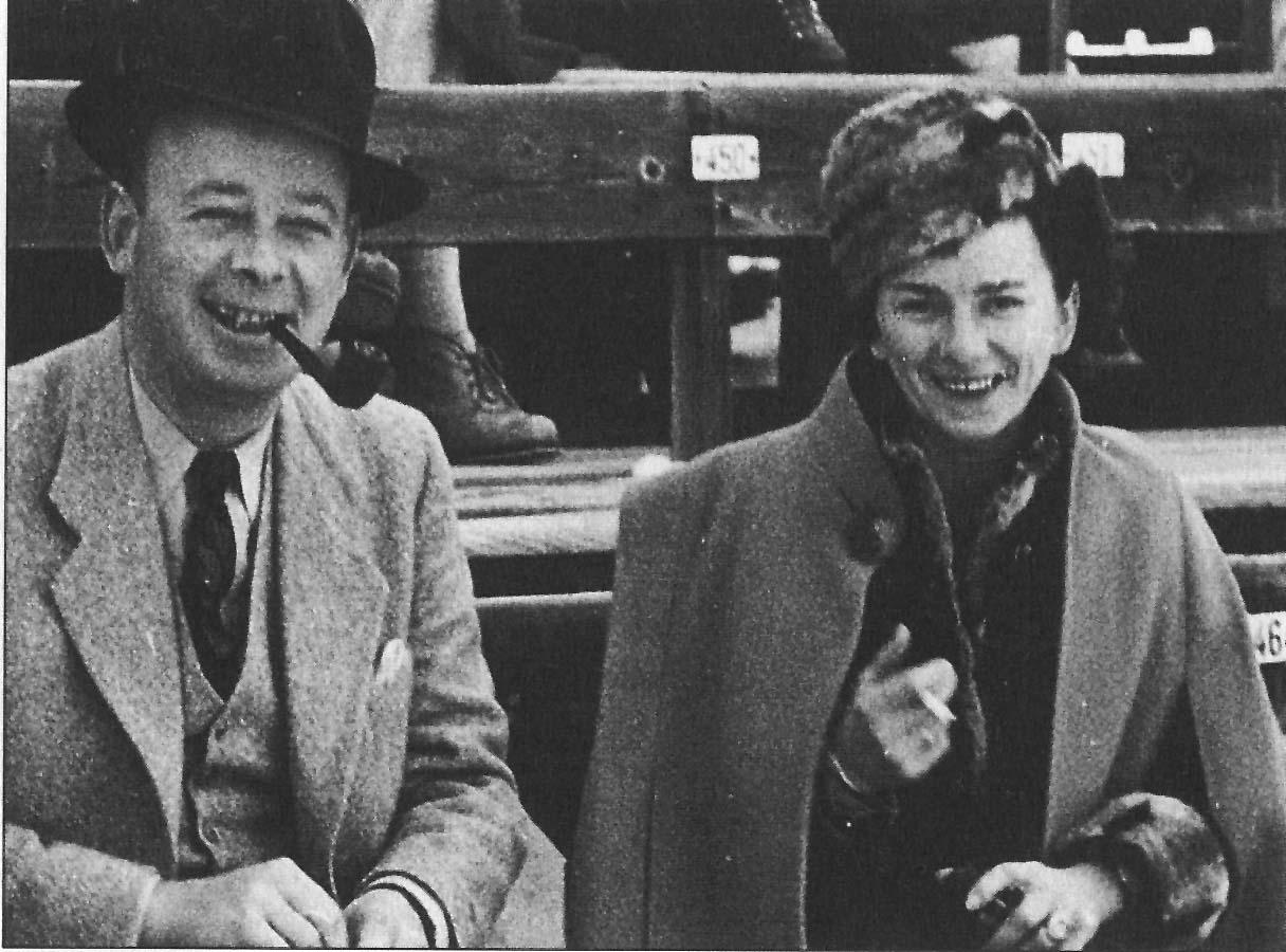 Hotelbesitzer Max Wagner jun. mit seiner Frau Hermine Stübi, 1942 (Christoph P. Reber)